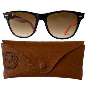 Ray•Ban WAYFARER RB2140 1002/51 Black Sunglasses
